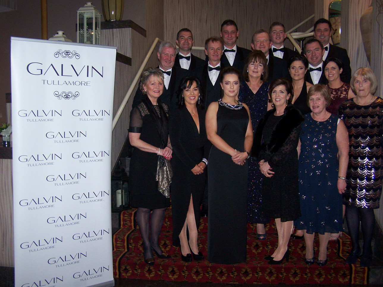 Thanks to Galvin Tullamore for Sponsorship of the Dress Suits