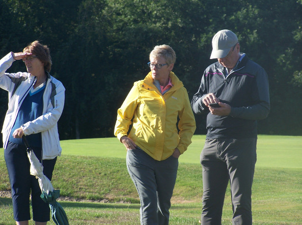 Lady Captain Stephanie McNiff and Martini Taaffe