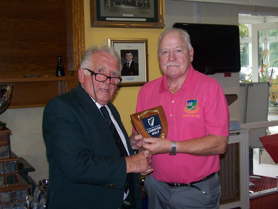 John Ferriter Chairman Leinster Golf and the Baltinglass Team Manager