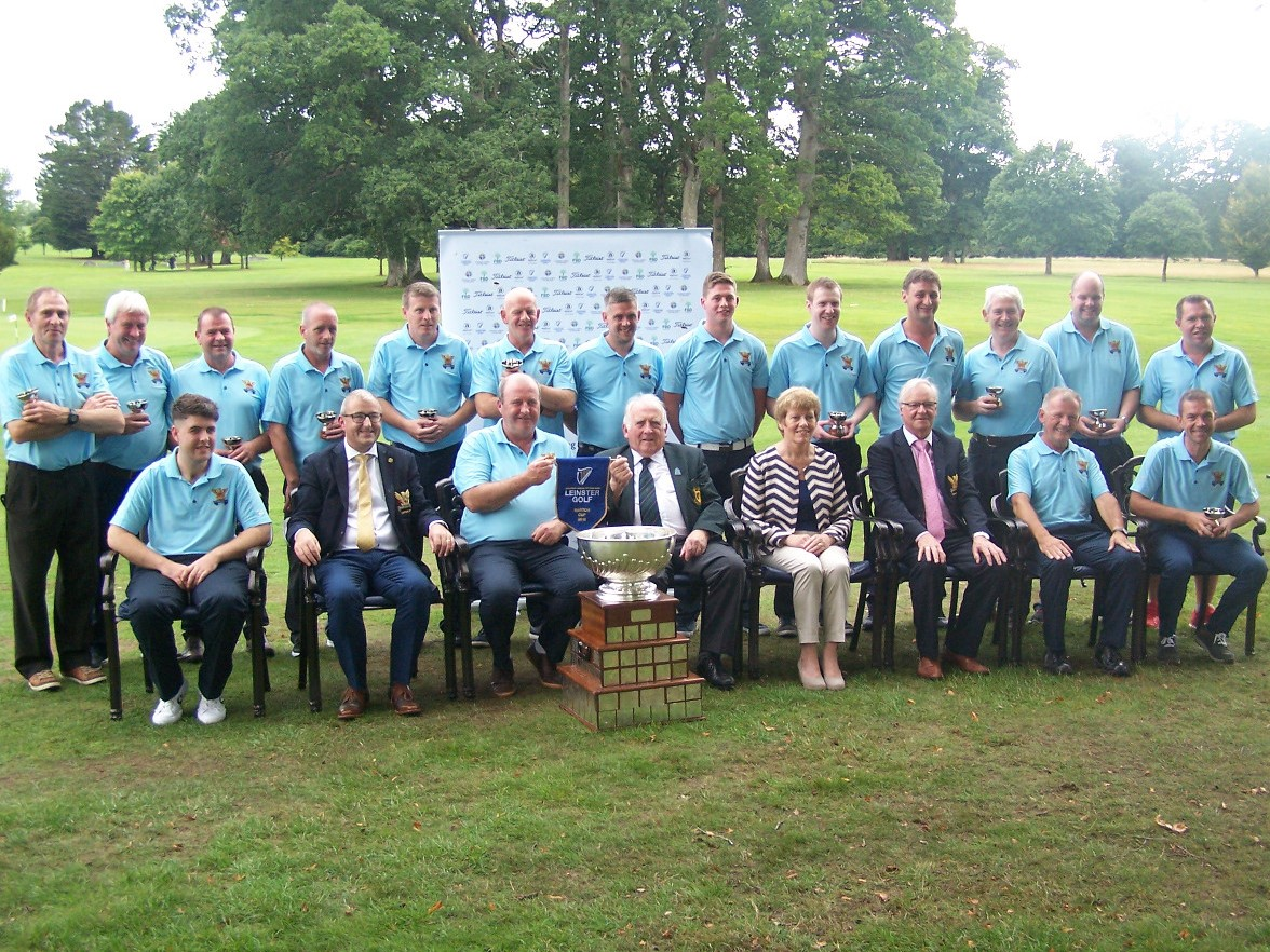 The Tullamore Barton Cup team 2018 winners