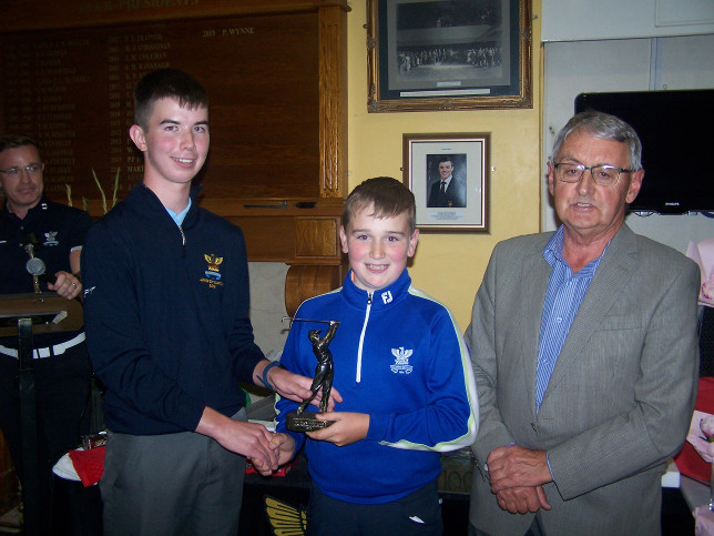 Evan Monaghan Most Promising Junior Golfer of the Year
