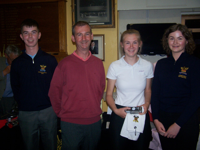 Katie & Padraig Hennessy winners in the Senior/Junior competition