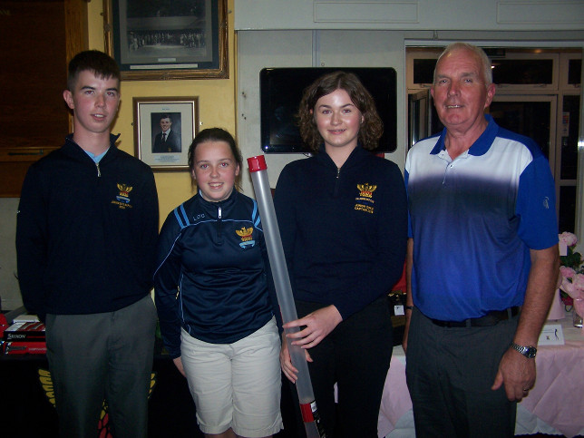 Willie & Lucy O Grady winners in the Senior/Junior
