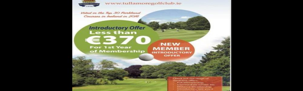 Interested in playing or returning to Golf - Great Offer